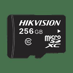 Memoria Hikvision Micro SD, Clase 10 de 256 GB, Especializada Para Videovigilancia, Modelo: HS-TF-L2/256G