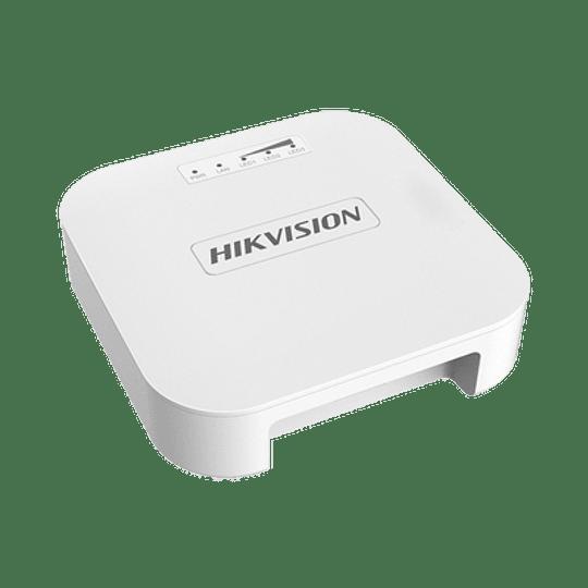 Kit de Puntos de Acceso Hikvision PTP en 2.4 GHz Ideales para Elevadores , Antena de 8 dBi, 60°H y 30°V, 100 mW de Potencia, Modelo: DS-3WF0AC2-NT - Image 1