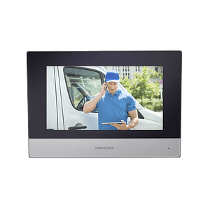 Monitor IP Hikvision, Wi-Fi, Touch Screen 7