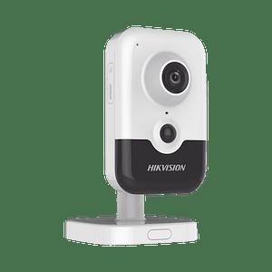 Camara Cubo IP 4 Megapixeles, Serie PRO, Lente 2.8 mm, 10 mts IR, PoE, Detección Facial, Modelo: DS-2CD2443G2-I