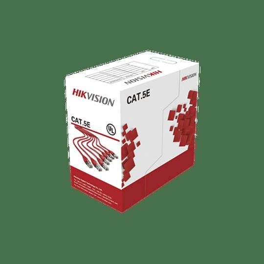 Bobina de Cable UTP 305 mts, Cat 5E, AWG, Modelo: DS-1LN5E-S