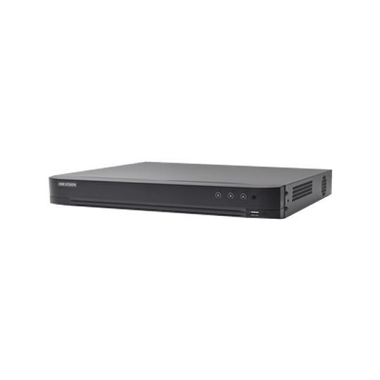 DVR 4 Megapixel 16 Canales TURBOHD + 8 Canales IP Modelo: DS-7216HQHI-K1 - Image 1