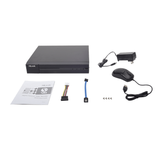 DVR HiLook 1080P Lite 8 Canales TURBOHD + 2 Canales IP Modelo: DVR-208G-F1 - Image 2