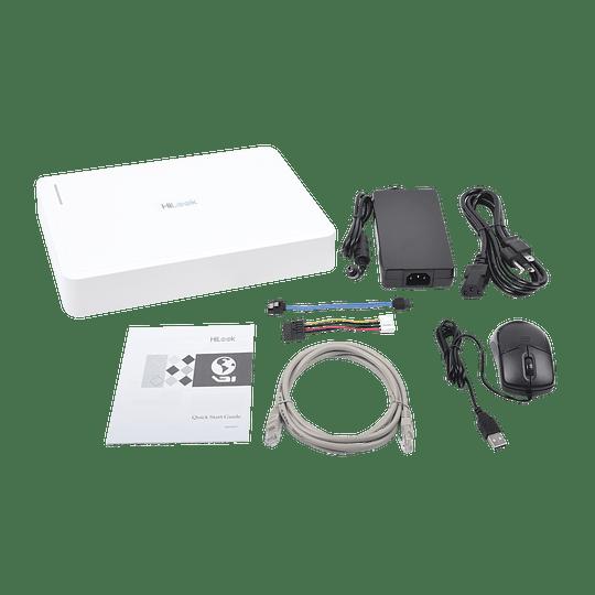 NVR HikLook 4 Megapixeles, 8 Canales IP,  8 Puertos PoE+ Modelo: NVR-108H-D/8P - Image 2