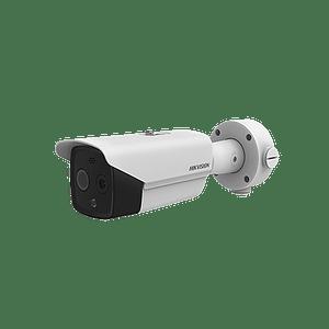 Camara Térmica Bala, IP, 3.1 mm (320X 240), Óptico 4 mm, 40 mts IR, Termométrica, Detección de Temperatura -20ºC a 50ºC. Modelo: DS-2TD2617B-3/PA