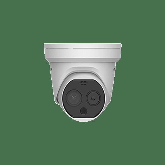 Camara Turret IP, Térmica 3.1 mm (320X 240), Óptico 4 mm, 15 mts IR, IP66, PoE, Termométrica, Detección de Temperatura -20ºC a 50ºC. Modelo: DS-2TD1217B-3/PA - Image 2