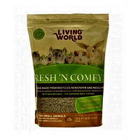 Living World Fresh And Comprimidosfy Sustrato de Papel Natural, 20 L