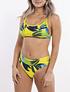 Bikini tiro medio colaless Brazilian