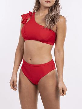 Bikini tiro alto Asimétrico Colores