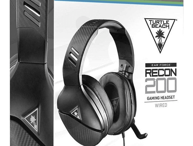 Audifonos Gamer Turtle Beach Recon 200 - Negro
