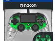 Control NACON Wired - Transparente Verde/Azul
