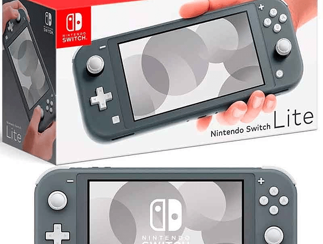Nintendo Switch Lite Combo - Grey