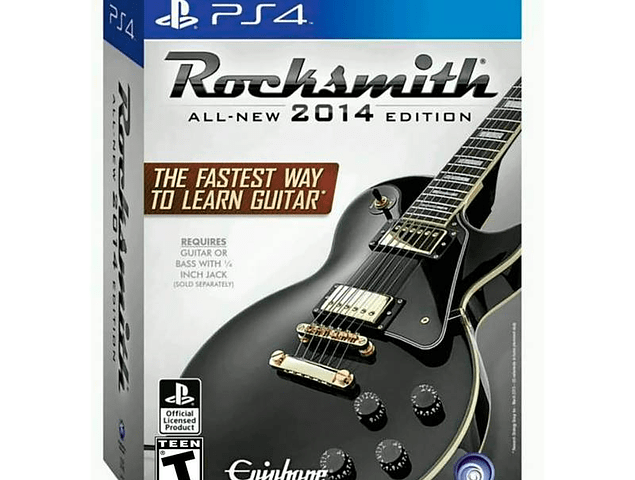 Rocksmith 2014 All New Edition + Cable - PlayStation 4