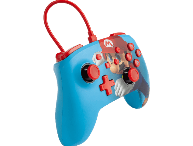 Control Wired Power A - Super Mario Punch