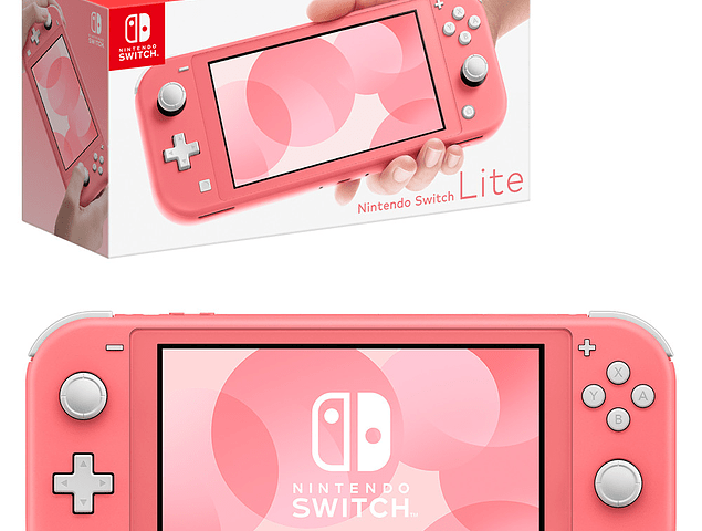 Consola Nintendo Switch Lite - Coral