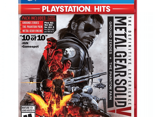 Metal Gear Solid: Definitive Experience - Playstation 4