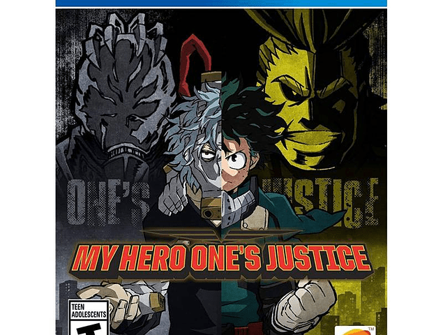 My Hero One Justice - Playstation 4
