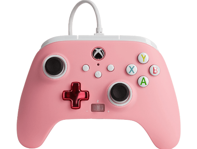 Control Xbox Power A - Wired - Pink