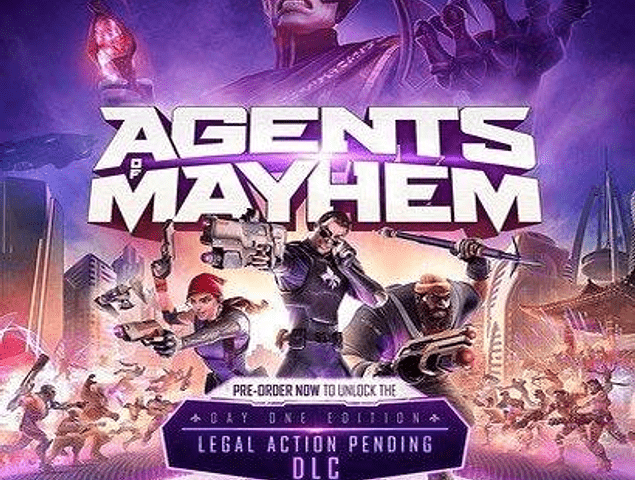 Agents Mayhem - Usado