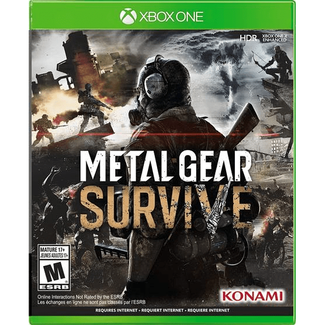Metal Gear Survive - Usado