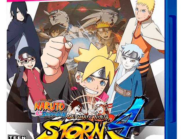NARUTO STORM 4: ROAD TO BORUTO PS4