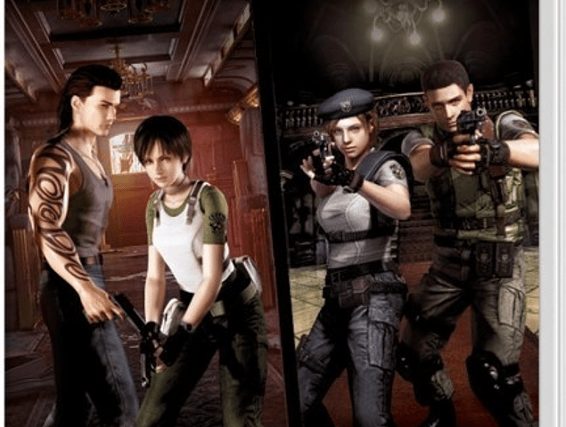 RESIDENT EVIL ORIGINS COLLECTION SWITCH