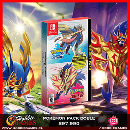 Pokemon Sword and Shield - Pack Doble