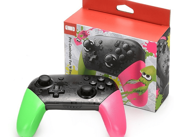 Control Pro Splatoon 2 OEM - Nintendo Switch