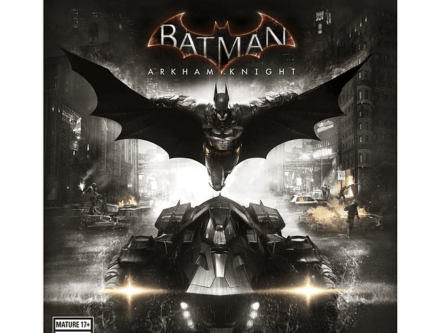 Batman Arkham Knight - Usado