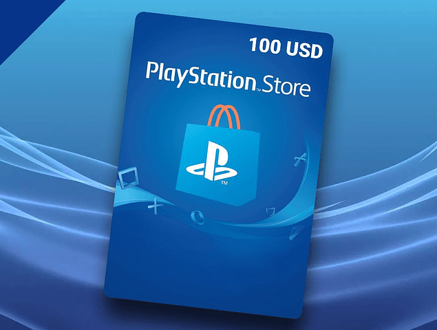 PlayStation PSN 100 USD