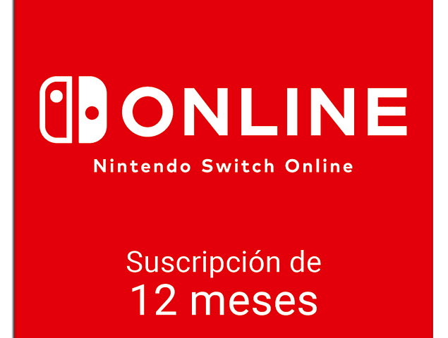 Nintendo Switch Online - 12 Meses