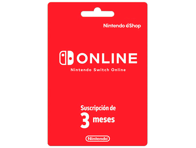 Nintendo Switch Online - 3 meses