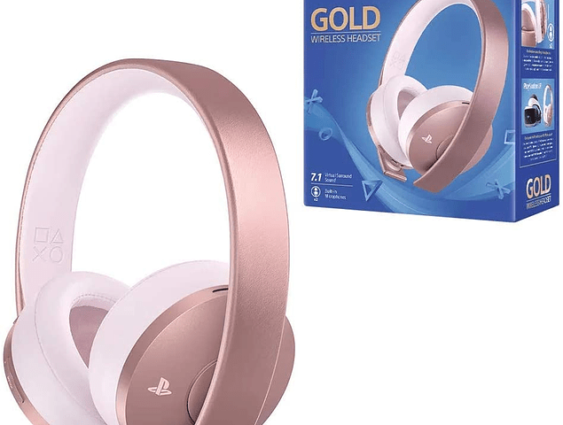 Audifonos Sony Gold Rose Inalambricos