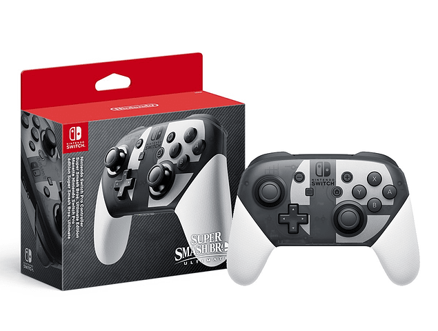Pro Controller Nintendo Switch - Super Smash Bros Edition