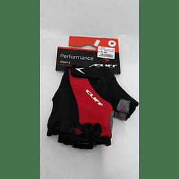 GUANTES CLIFF PERFORMANCE Men's Negro/Rojo M