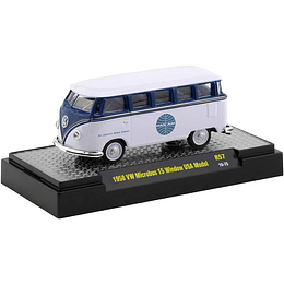 Volkswagen Microbus 15 Window USA Model 1/64 - Serie Panam