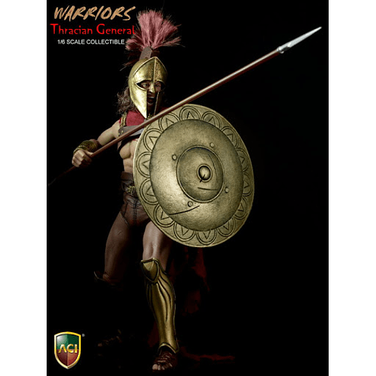 Warriors S Thracian General 1/6