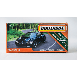 Automovil 16 BMW I8 - Matchbox Power Grabs 2018 1/64
