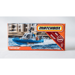 Bote TINFORCER - Matchbox Power Grabs 2018 1/64