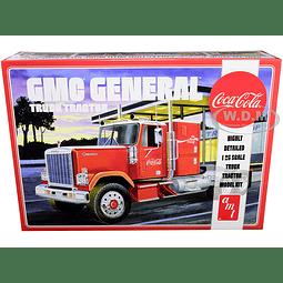 Tracto mula GMC General  Coca-Cola 1/25