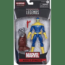 Marvel Legends 6 Inch Black Widow Wave 1 - Set of 7 (Crimson Dynamo BAF) Spymaster
