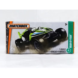 Todoterreno Roar By Four 1/64 - Matchbox