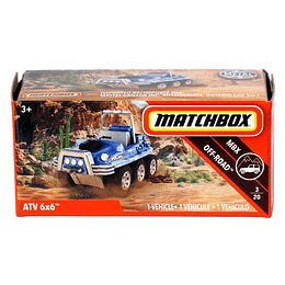 ATV 6x6 - Matchbox Power Grabs 2018 1/64