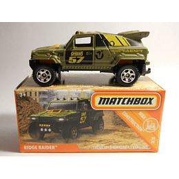 Campero Ridge Raider - Matchbox Power Grabs 2018 Mix 3   1/64