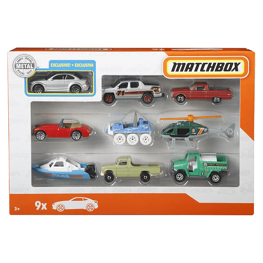 Matchbox set de regalo 1/64