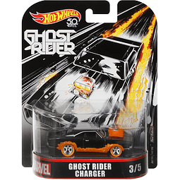 Hot Wheels Retro Entertainment 2018 Ghost Rider Dodge Charger 1/64