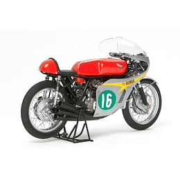 Motocicleta Tamiya Honda Rc166 Gp Racer