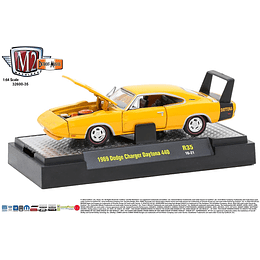 M2 Machines 1969 Dodge Charger Daytona 440 1/64