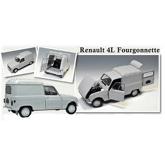 FURGONETA RENAULT 4F  1/24