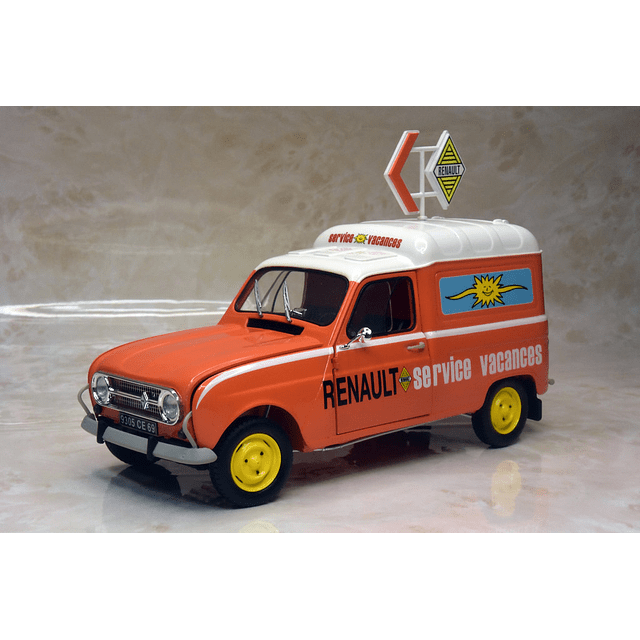 "FURGONETA RENAULT 4F ""SERVICE RENAULT"" 1/24"